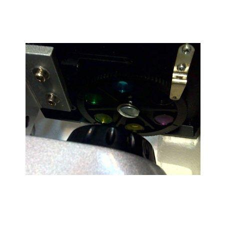 نمایش فیلتر های رنگی میکروسکوپ بیولوژی تک چشمی 640 برابر مدل XSP45