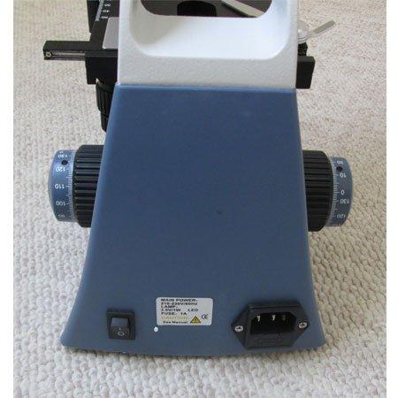 نمای منبع تغذیه میکروسکوپ سه چشمی بیولوژی 1600 برابر مدل KE-M2015T-Plan