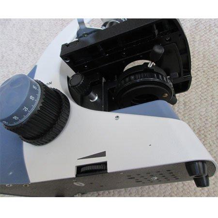 نمای زیرین میکروسکوپ سه چشمی بیولوژی 1600 برابر مدل KE-M2015T-Plan